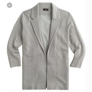 NWT J. CREW 365 Sparkly Sophie Sweater Blazer Med